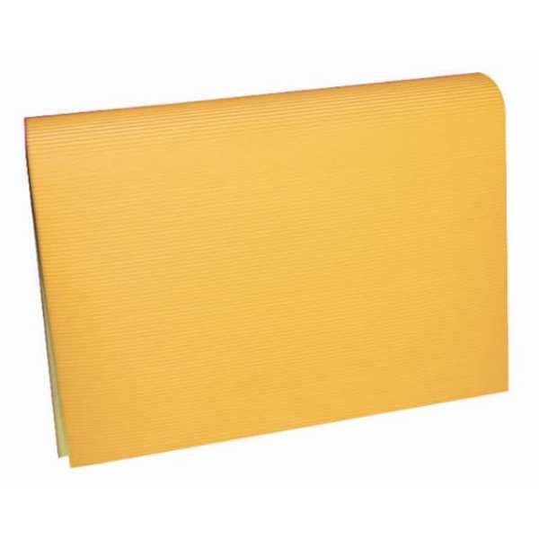 Papel Microondulado Amarelo 50x80cm 10 FL VMP