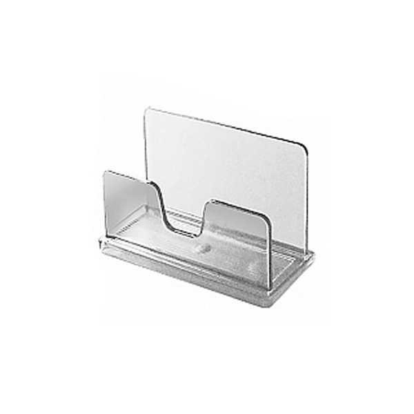 Porta Cartão de Mesa Visita Cristal 730 1 UN Acrimet