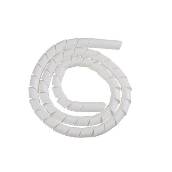 Tubo Espiral Organizador Branco 1/2