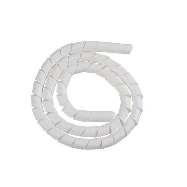 Tubo Espiral Organizador Branco 3/4
