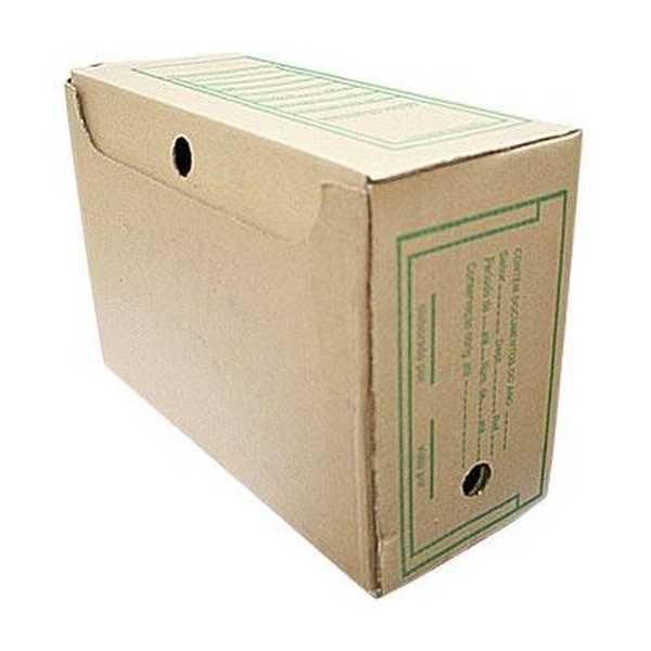 Arquivo Morto Gigante Papelão 410x295x175mm PT 25 UN Frugis