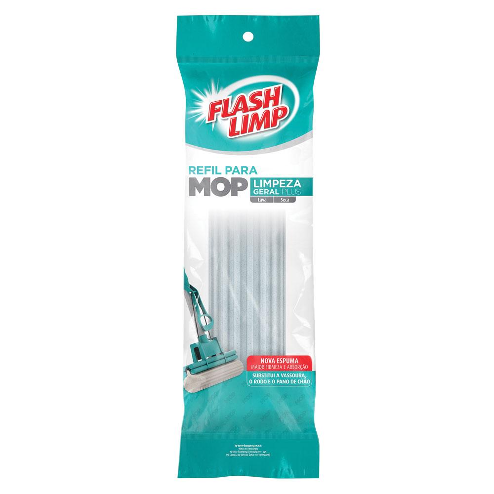 Refil Mop Limpeza Geral Plus RMOP7671 1 UN Flashlimp