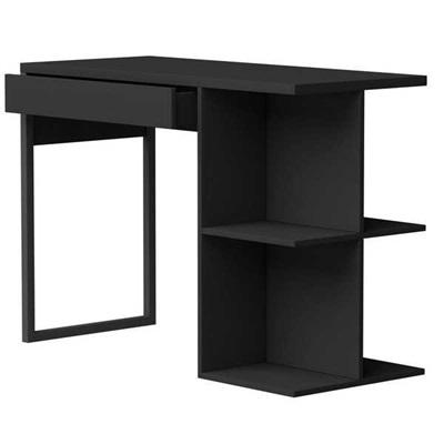 Mesa de Computador Boss Preta 105x74,5x45cm 1 UN Multivisão