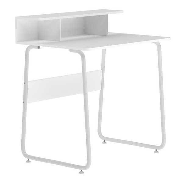 Mesa de Computador Multiuso Job Preta 67x92x45cm 1 UN Multivisão