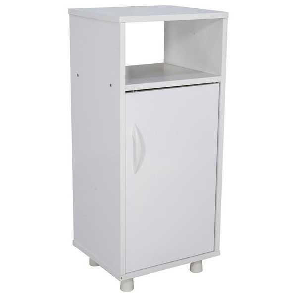Gabinete para Filtro de Água 1 Porta Branco 33,5x75x30,5cm 1 UN Multivisão