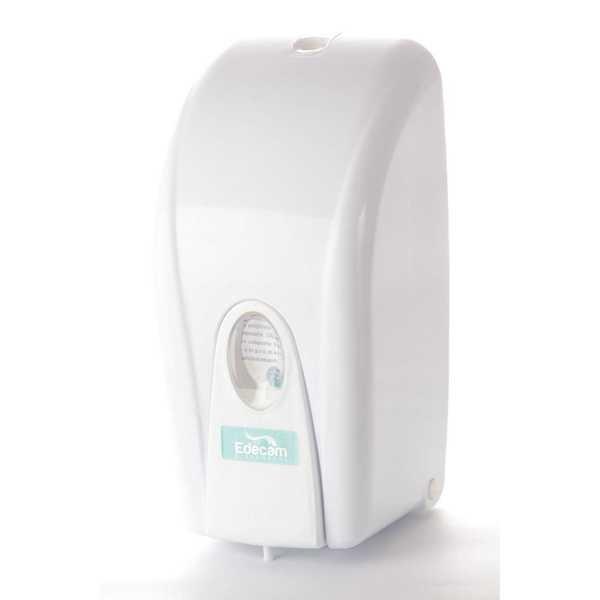 Dispenser para Sabonete com Reservatório Válvula Pump Gel 950ml 1 UN Edecam