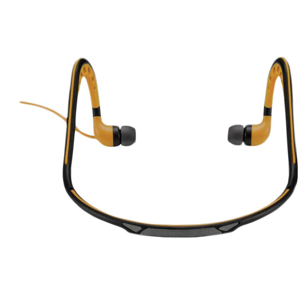Fone de Ouvido Sport Arco Preto e Amarelo PH203 1 UN Pulse