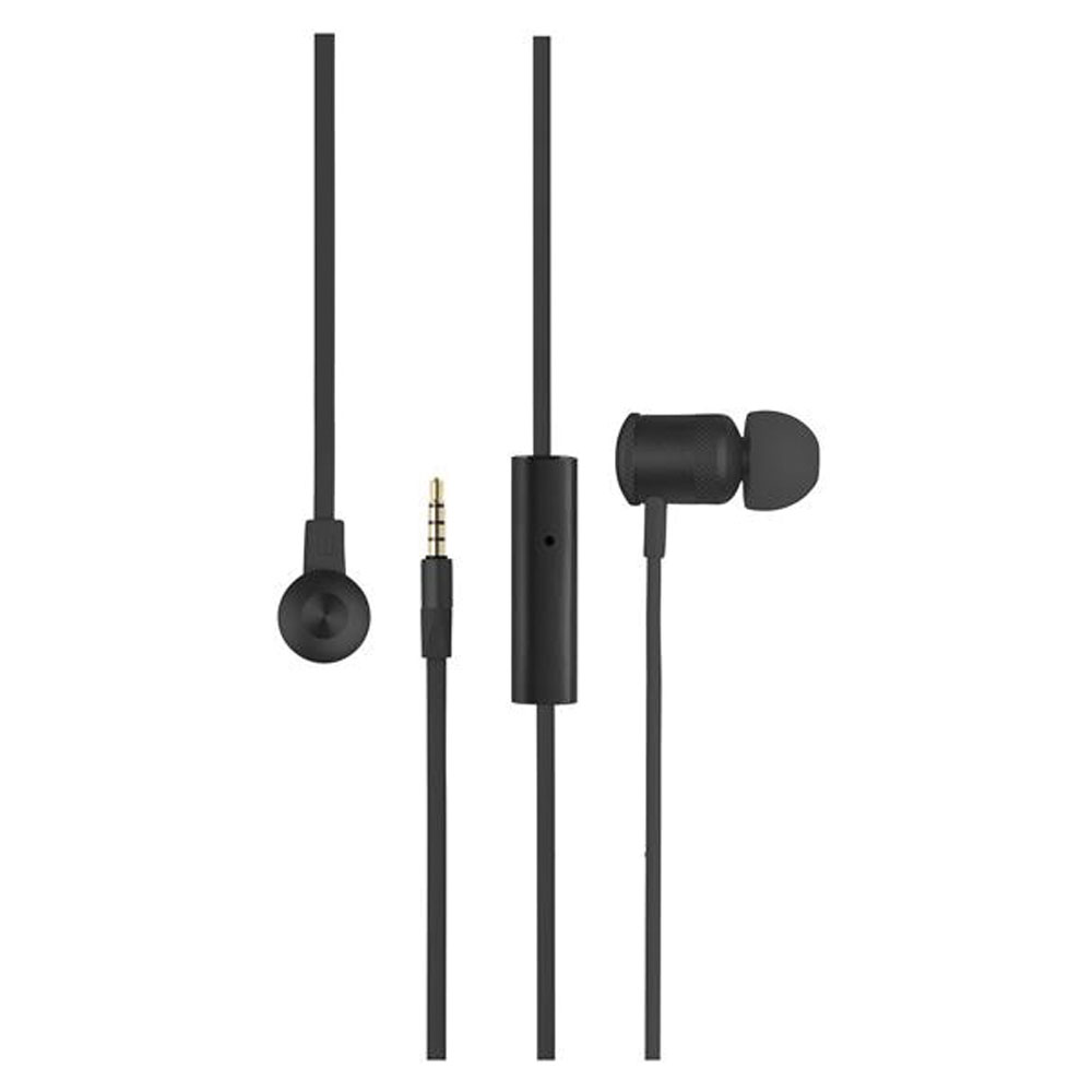 Earphone Hands Free Neon Preto PH186 Pulse