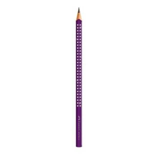 Lápis Preto B N.2 Eco Grip Triangular Roxo 1 UN Faber Castell