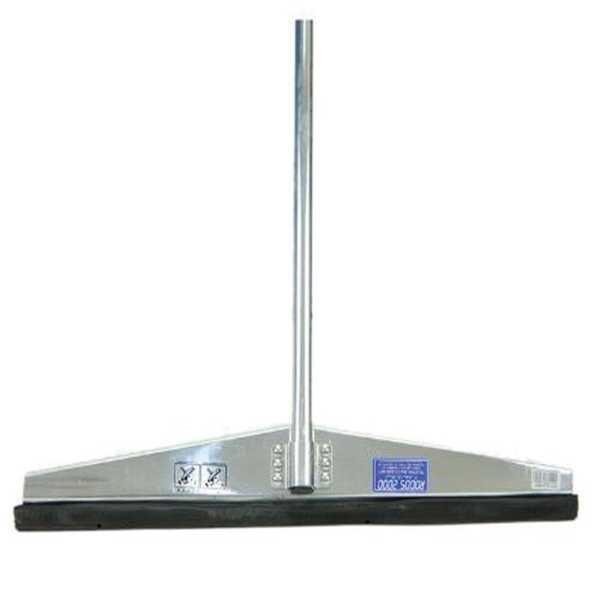 Rodo Alumínio Simples para Chão 60cm Cabo em Alumínio 1,5m 1 UN Rodos 2000