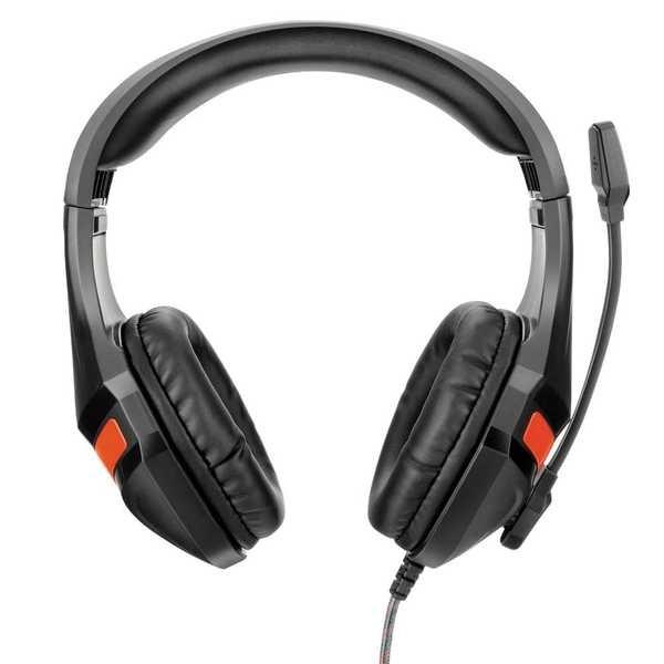 Headset Warrior Gamer P2 Preto PH101 1 UN Multilaser