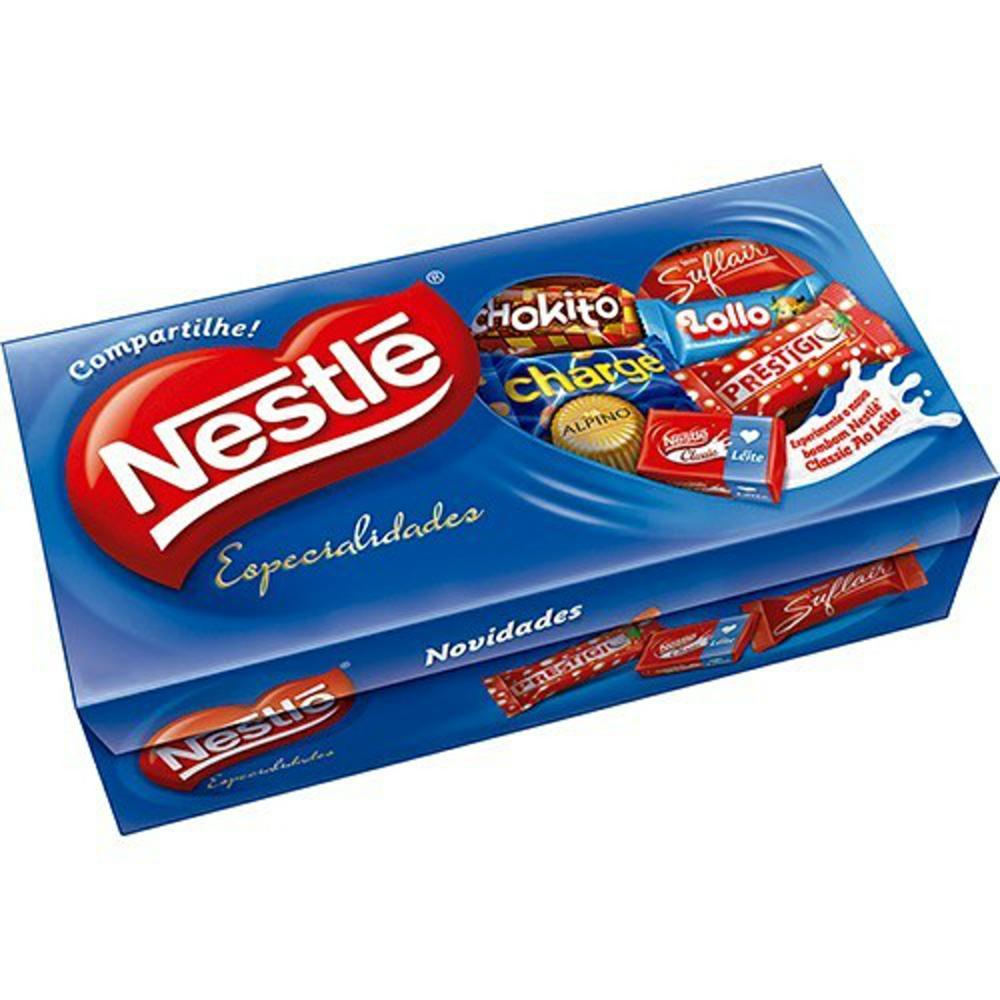 Caixa de Bombom Especialidades 300g 1 UN Nestlé