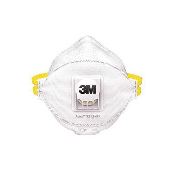 Respirador Aura Dobrável Valvulado 9312 PFF1 C.A 30591 1 UN 3M