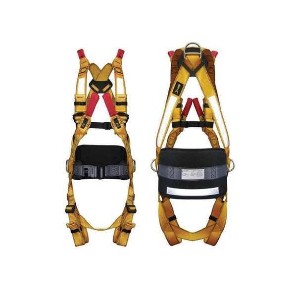 Cinturão Paraquedista em Poliéster 4 Conexões C.A 36649 1 UN Hércules