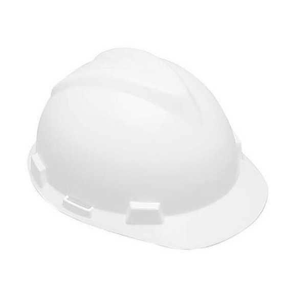Capacete com Jugular V-Gard Branco C.A 498 1 UN MSA