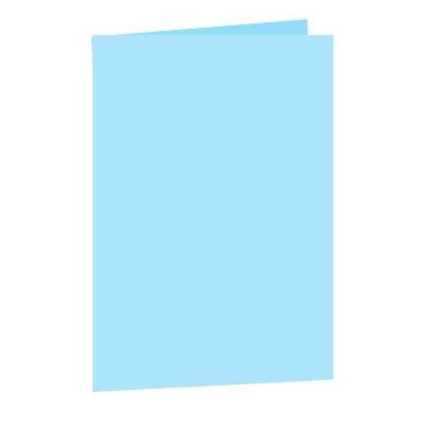 Pasta Cartolina Simples Azul 150g 1 UN San Remo