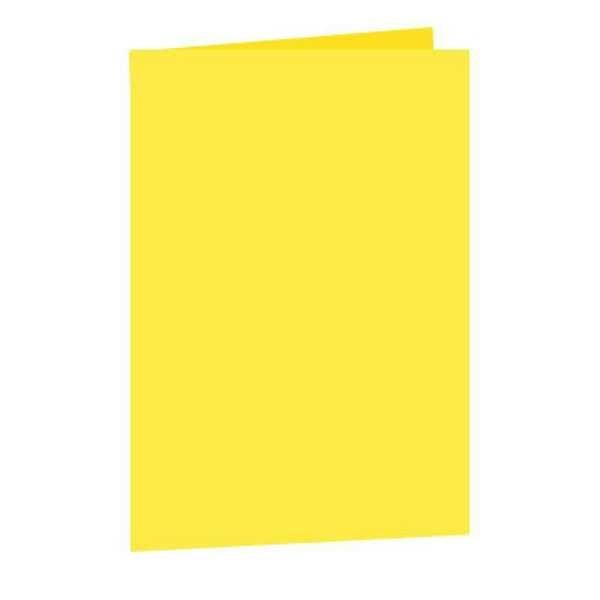 Pasta Cartolina Simples Amarela 150g 1 UN San Remo