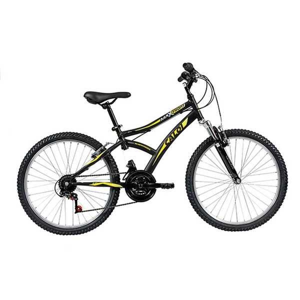 Bicicleta Aço Max Front Aro 24 Preto 1 UN Caloi