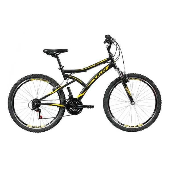 Bicicleta Aço Andes Aro 26 Preto 1 UN Caloi