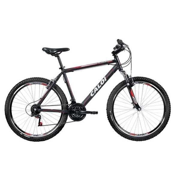 Bicicleta Aluminum Sport Aro 26 Preto 1 UN Caloi