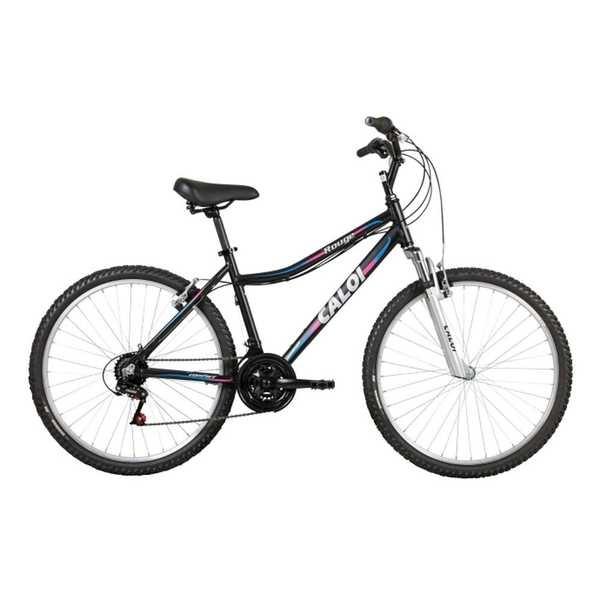 Bicicleta Alumínio Rouge Aro 26 Preto 1 UN Caloi