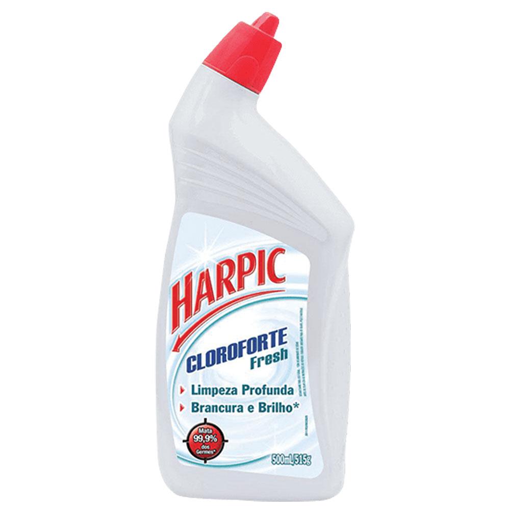 Desinfetante Sanitário Cloro Forte 500ml 1 UN Harpic