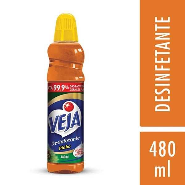 Desinfetante 480ml Pinho 1 UN Veja