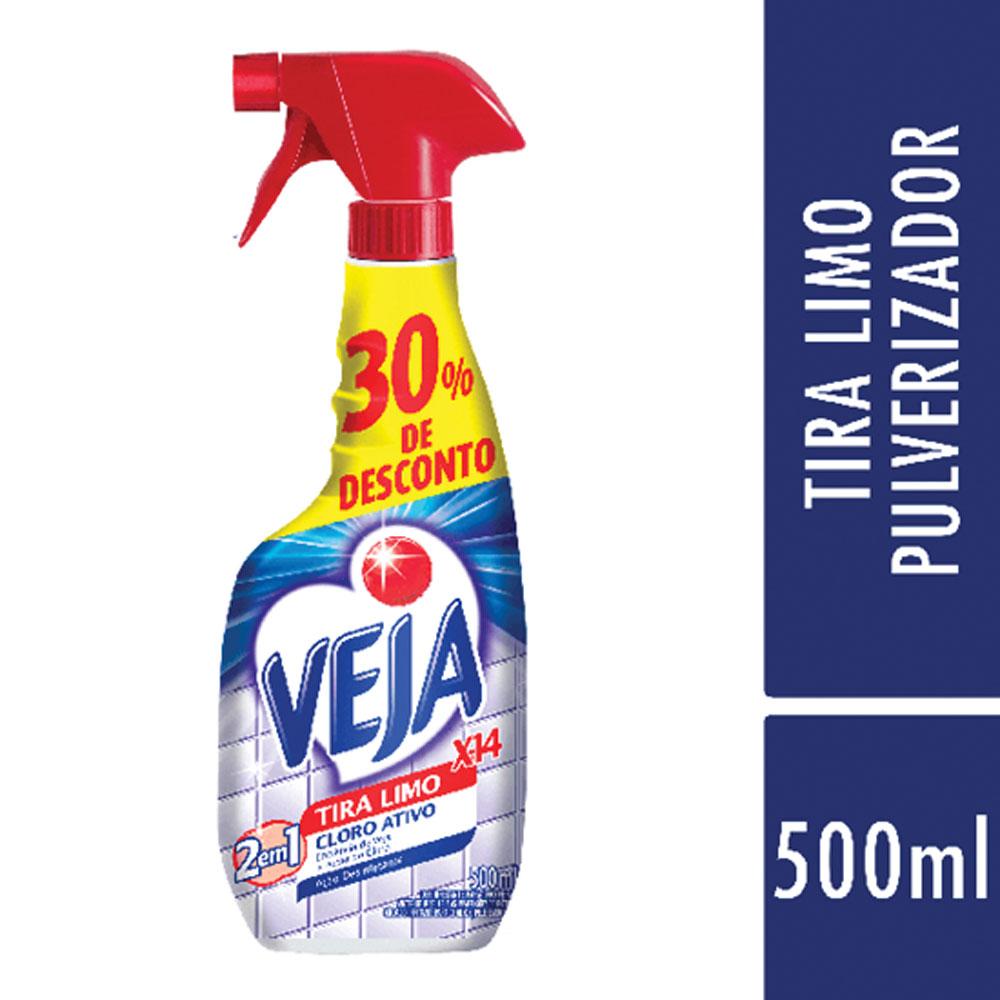 Limpador para Banheiro X-14 Tira Limo 500ml com 30% de Desconto 1 UN Veja