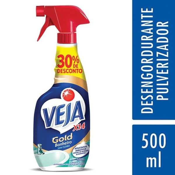 Limpador de Banheiro X-14 500ml com 30% de Desconto 1 UN Veja