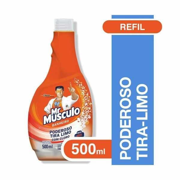 Limpador para Banheiro Tira Limo 500ml 1 UN Mr. Músculo