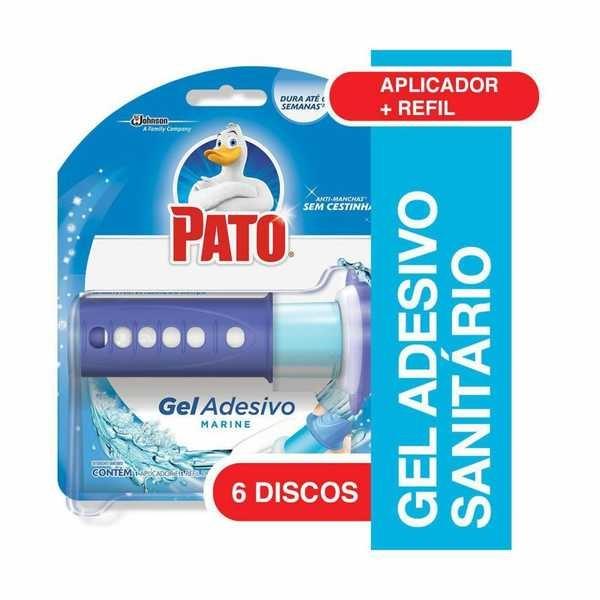 Gel Adesivo Marine com Aplicador 6 Discos de Gel 1 UN Pato