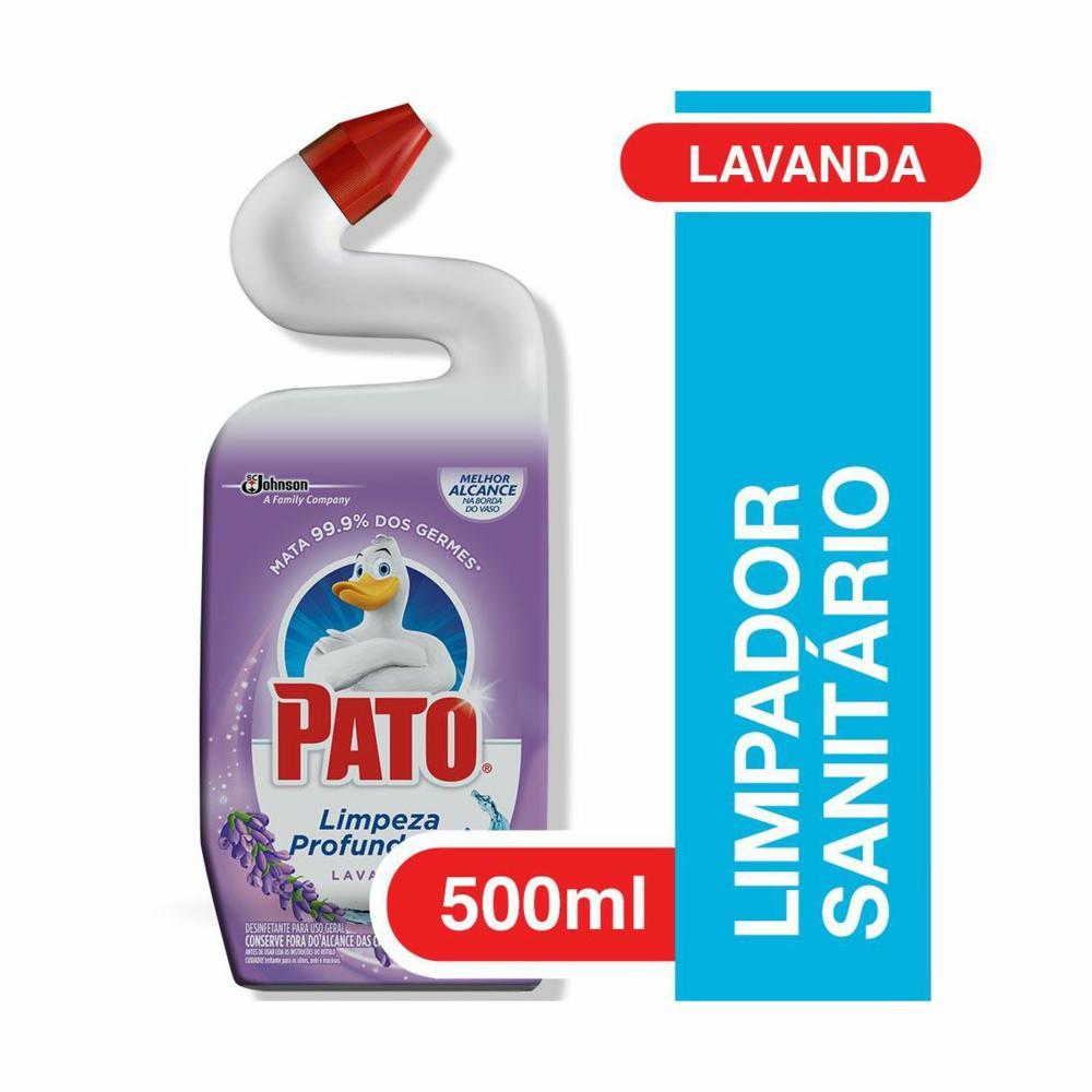 Desinfetante Sanitário Purific Germinex 500ml Lavanda 1 UN Pato