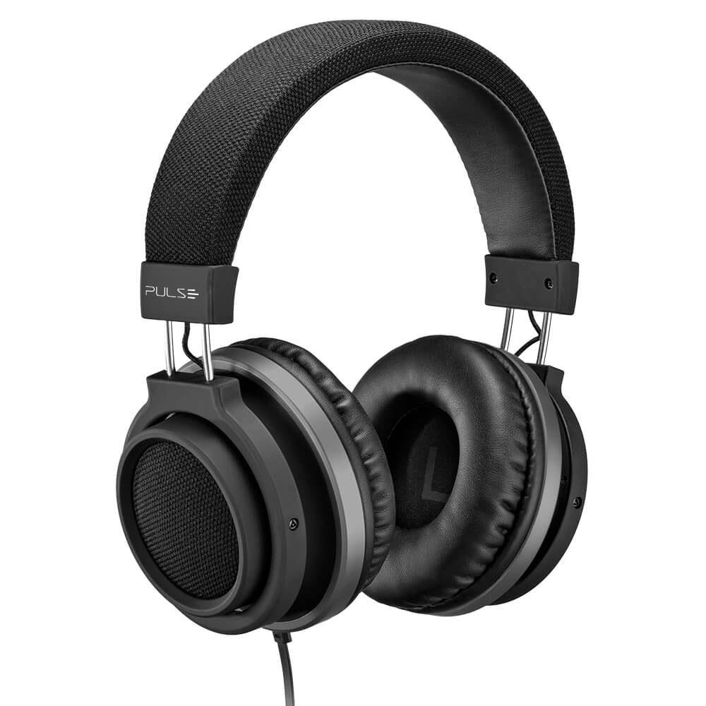 Headphone Large Conector P2 Preto PH226 1 UN Pulse