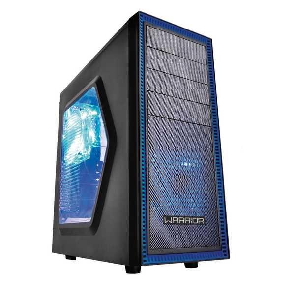 Gabinete Gamer Warrior 3 Cooler com LED GA134 1 UN Multilaser