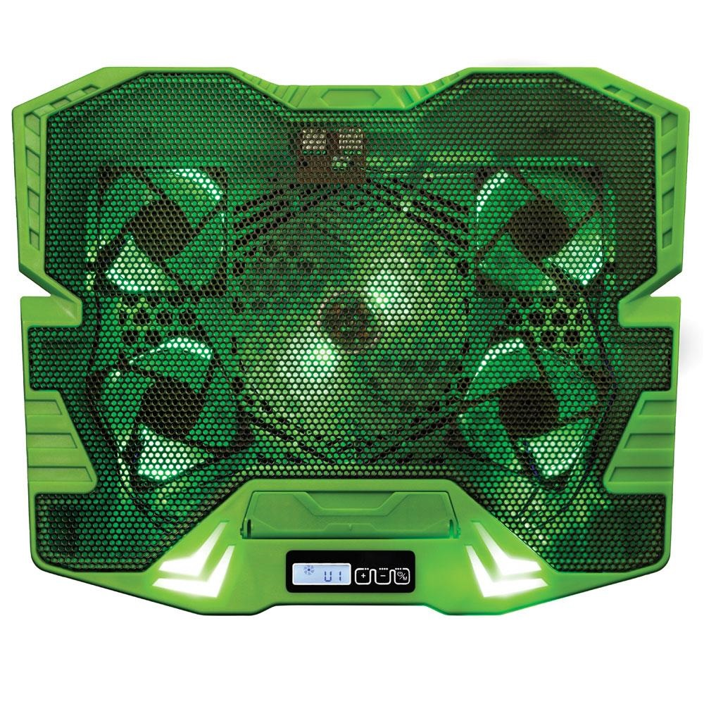 Cooler Gamer Master Verde com LED 1 UN Multilaser