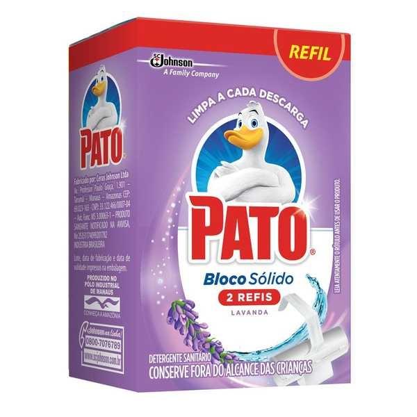 Bloco Sanitário Refil 35g Lavanda 1 UN Pato