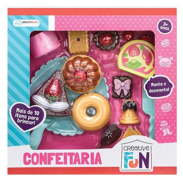 Confeitaria Creative Fun BR602 1 UN Multikids