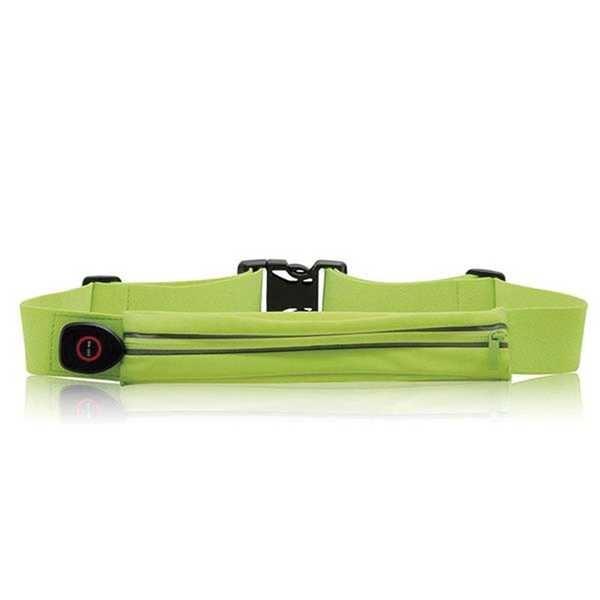 Cinto Esportivo com LED Verde ES089 1 UN Atrio