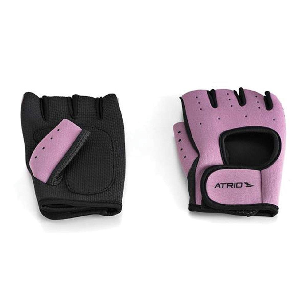 Luva para Musculação Rosa ES133 1 UN Atrio