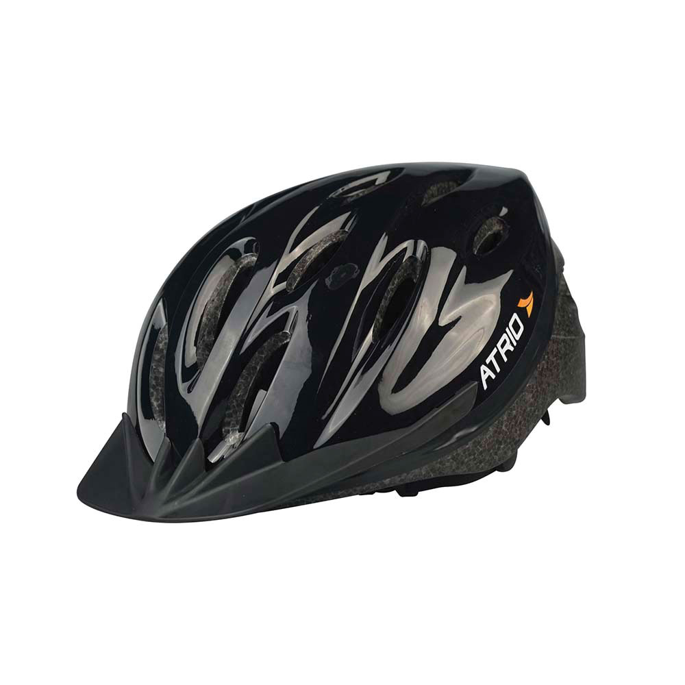 Capacete para Ciclista MTB Preto G BI003 1 UN Atrio