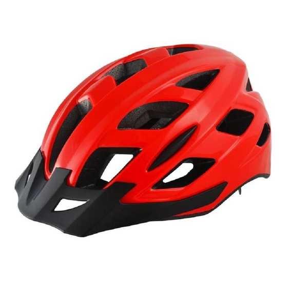 Capacete para Ciclista com LED 2 Traseiro Vermelho M BI107 1 UN Atrio