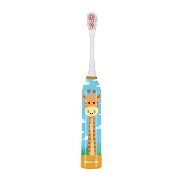 Escova Elétrica Infantil Girafa HC082 1 UN Multilaser