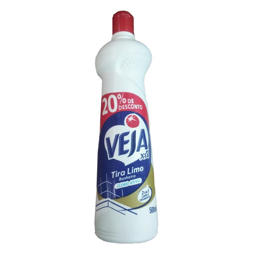 Limpador de Banheiro X-14 500ml com 20% de Desconto 1 UN Veja