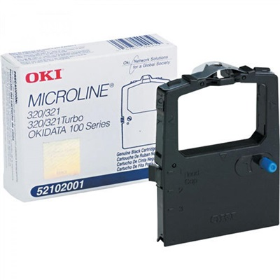 Fita para Impressora Matricial Preta ML184T 1 UN Okidata
