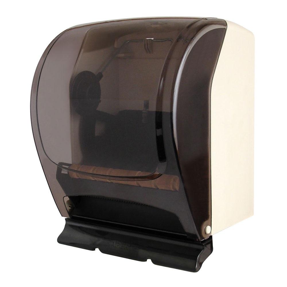 Dispenser Papel Toalha Bobina Alavanca até 20cm Fumê 1 UN Plestin