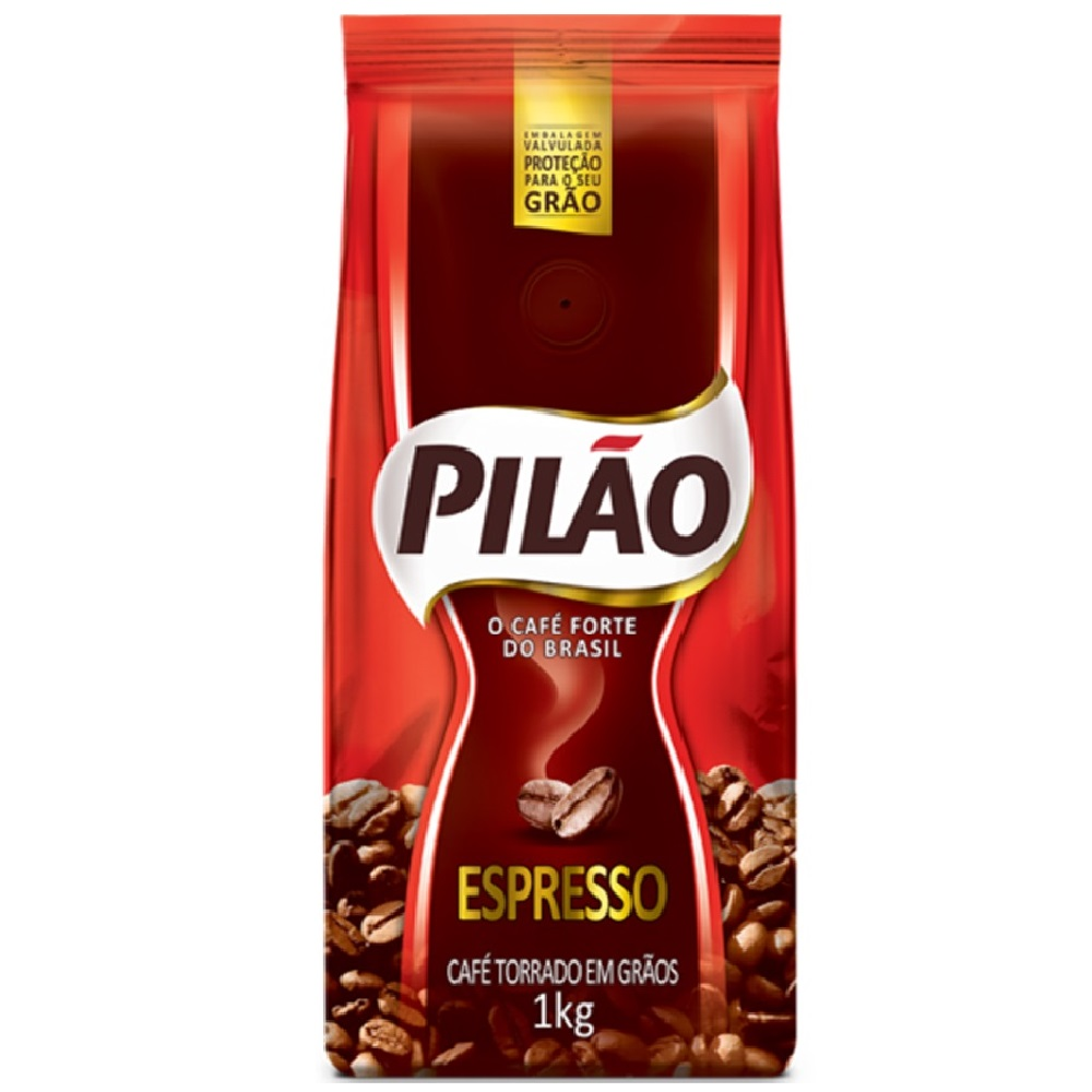 Café em Grão Espresso 1Kg 1 UN Pilão