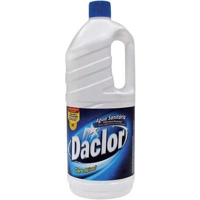 Água Sanitária Cloro Ativo 2,0 a 2,5% 2L 1 UN Daclor