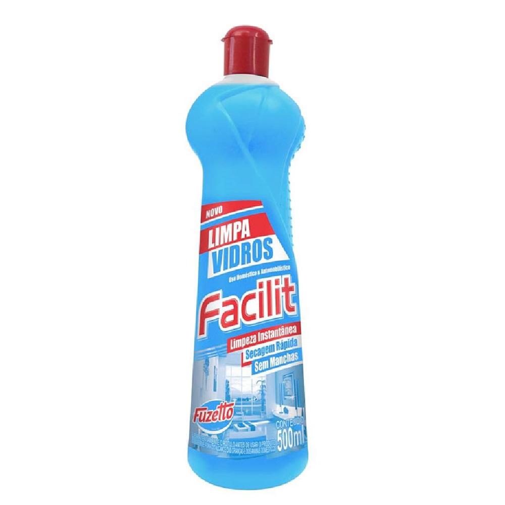 Limpa Vidros Squeeze 500 ml 1 UN Fuzetto