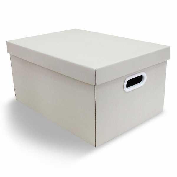 Caixa Organizadora Pratika Bege Art 45,5x31,5x23cm 1 UN Boxgraphia