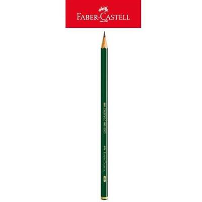 Lápis Preto 9000 6B Regent Técnico Sextavado 1 UN Faber Castell
